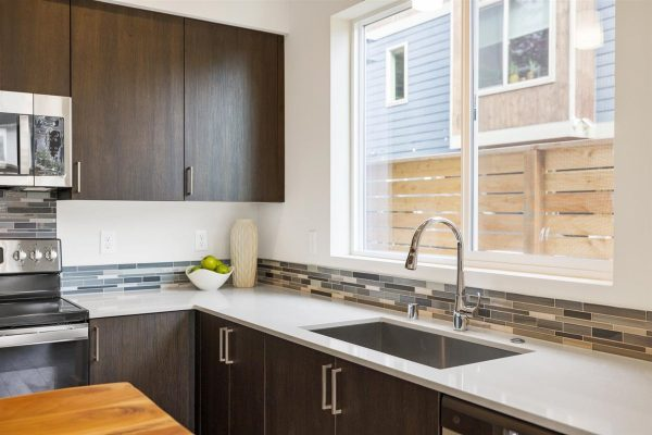 Kitchen sink of 6913A at Oxbow II in Georgetown by Sage Homes Northwest