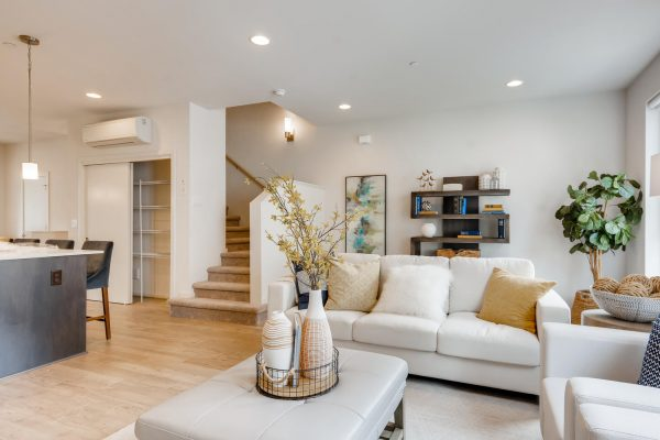 The Renzo at Westbrook by Sage Homes living room