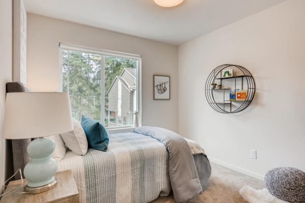 The Renzo at Westbrook by Sage Homes second bedroom