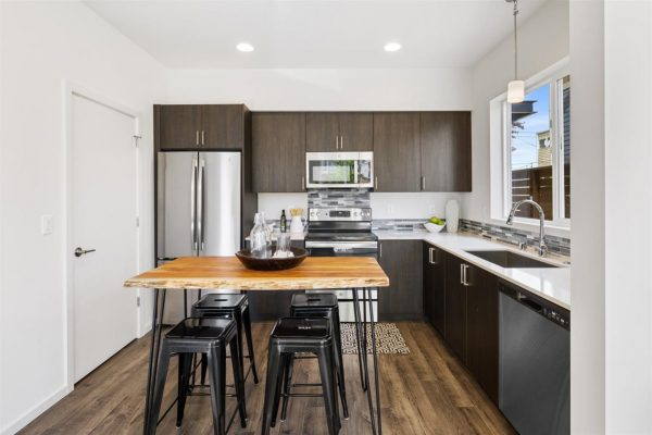 Pantry of 6913A at Oxbow II in Georgetown by Sage Homes Northwest
