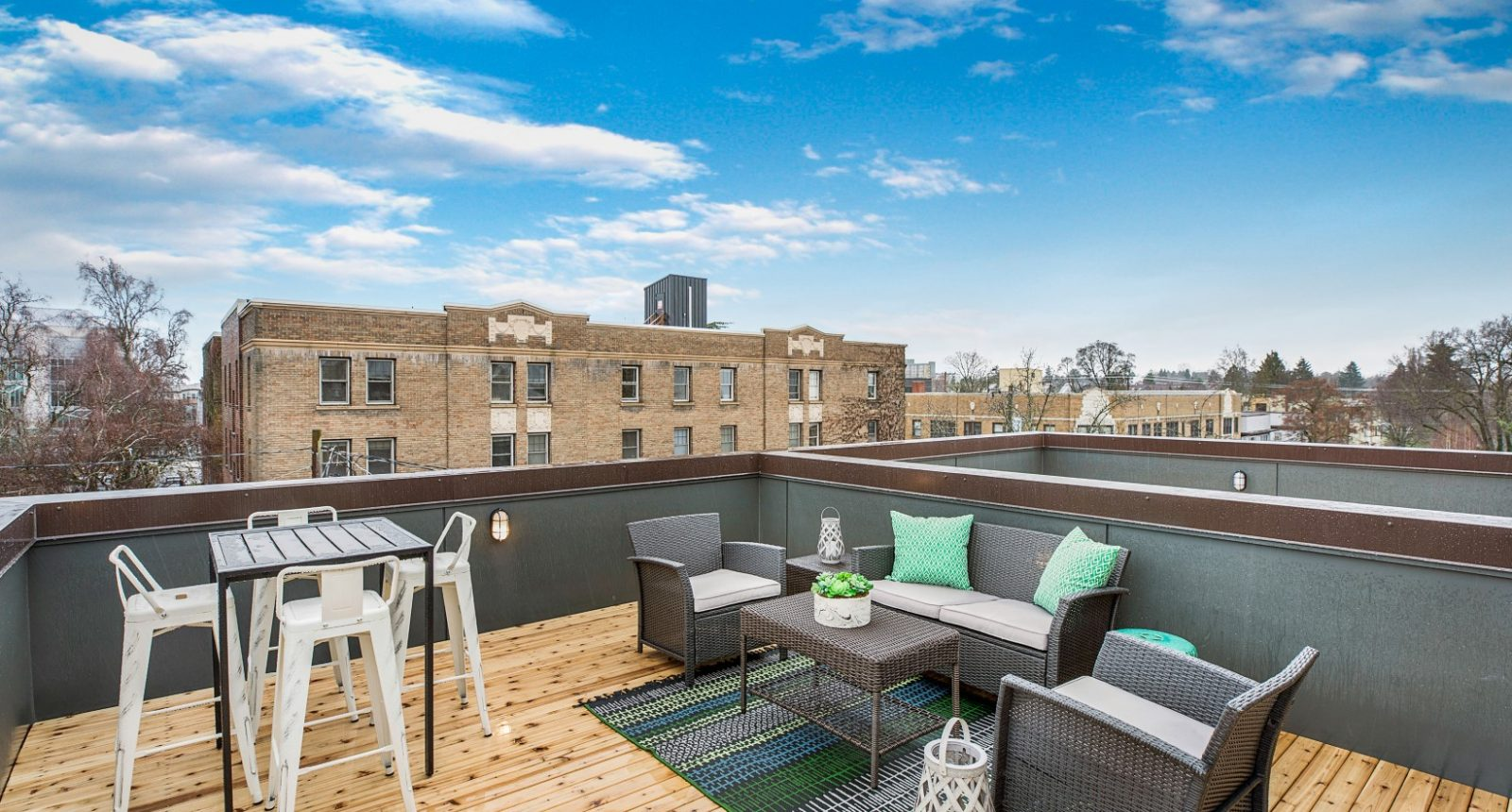 The Foster by Sage Homes Roof Deck 2