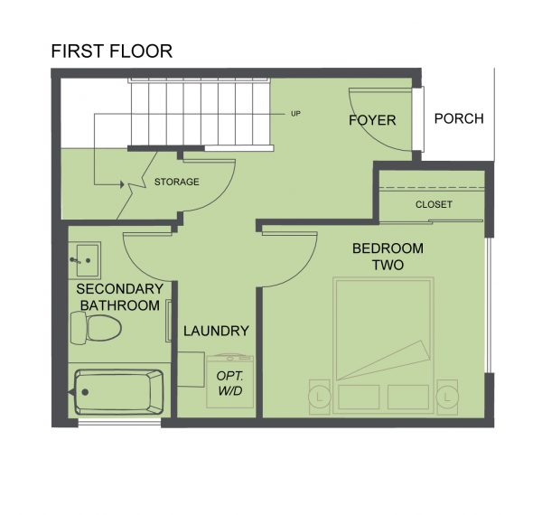 First Floor 2 of the Burnham by Sage Homes