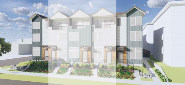 Exterior of the The Ingels at Specrta I by Sage Homes