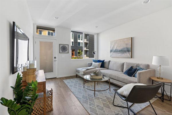 Living room 1 of the Meier at Spectra II by Sage Homes