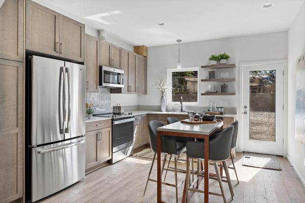 Dining and Kitchen 1 of the Meier at Spectra II by Sage Homes