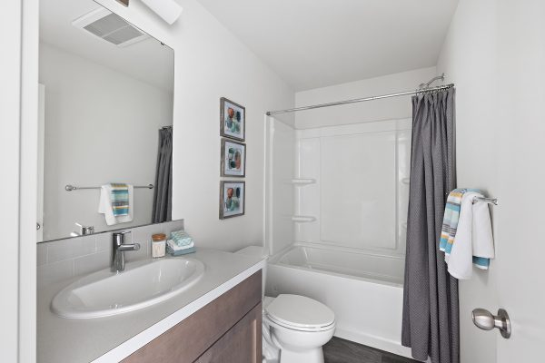 Second bathroom of the Meier at Spectra II by Sage Homes