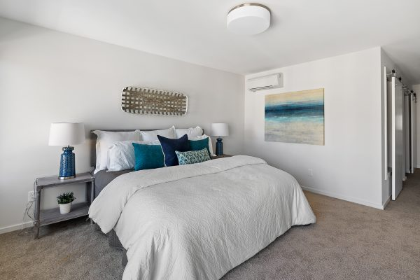 Primary bedroom 2 of the Meier at Spectra II by Sage Homes